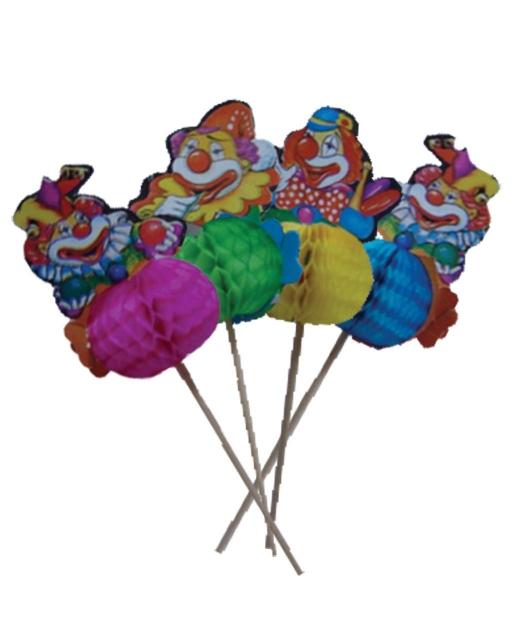 "Коктейлни украси ""Клоун"" розетка"