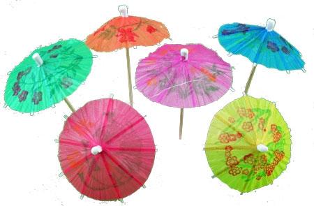 Коктейлни чадърчета 144бр.
