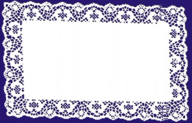 rectangular doilies