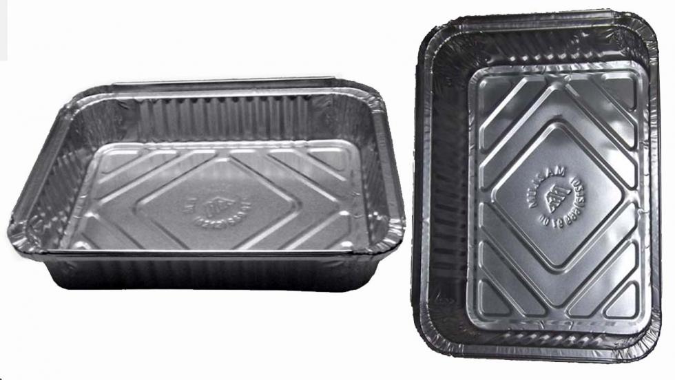 1 l aluminum tray