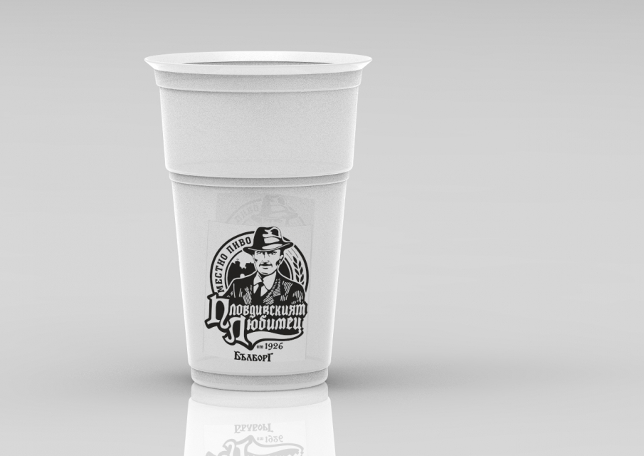 350 ml and 500 ml beer and soft drinks cup