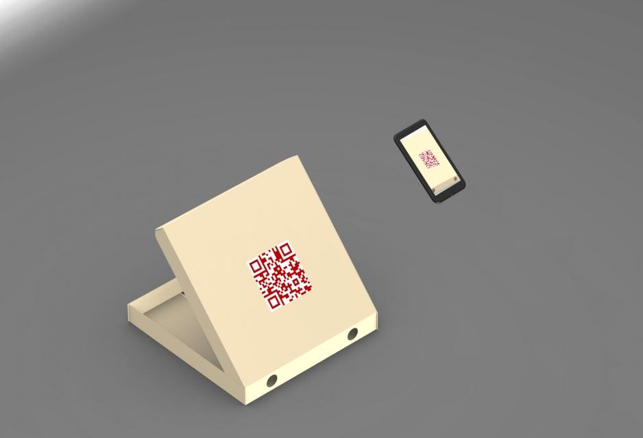 Smart pizza box