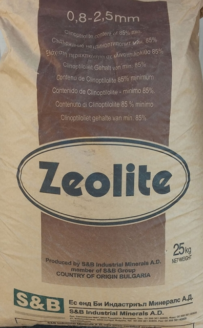 Zeolite 25kg