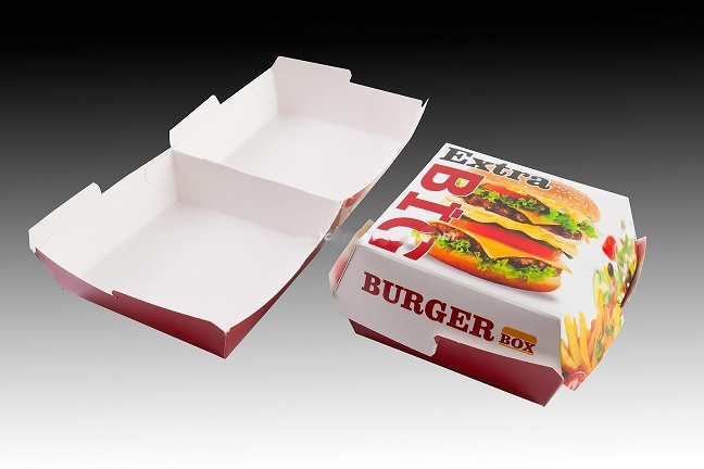 Кутия за бургер голям