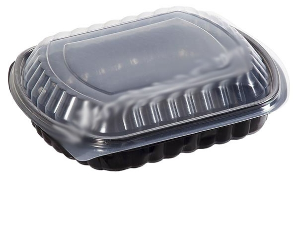 Food container 1 000ml black