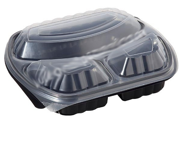 Food container 1 000 ml black