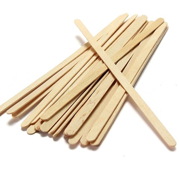 Дървени бъркалки 18 см х 1000 бр.