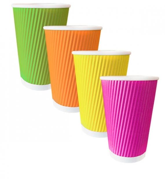 Картонена чаша 12 oz - 360 ml