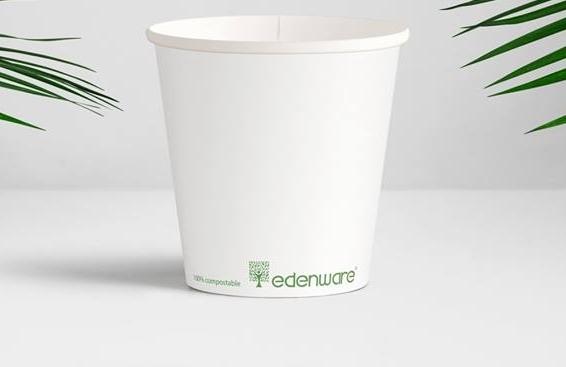 Bio degredable paper cup 4 oz