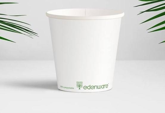 Bio degredable paper cup 8 oz