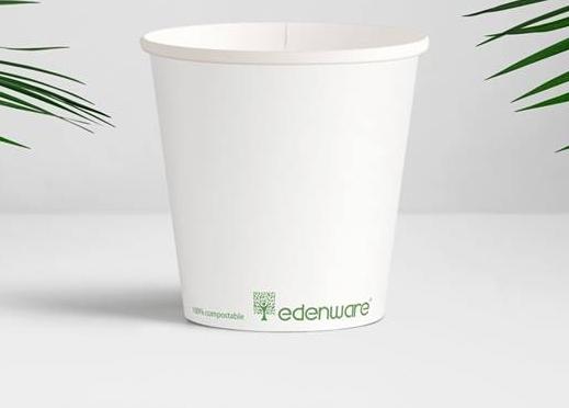 Bio degredable paper cup 12 oz