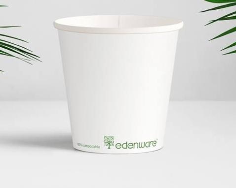 Bio degredable paper cup 16 oz