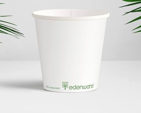 Bio degredable paper cup 16 oz