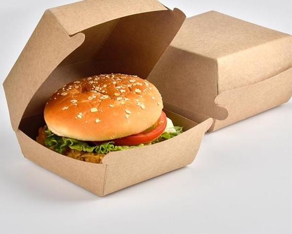 Big burger box (brown)