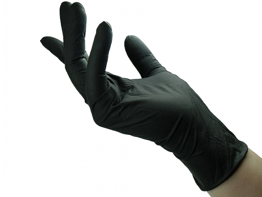 Nitril gloves black 100 pcs