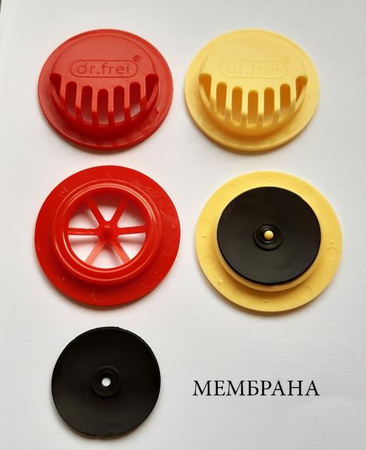 Мембрана към клапан за лицева маска