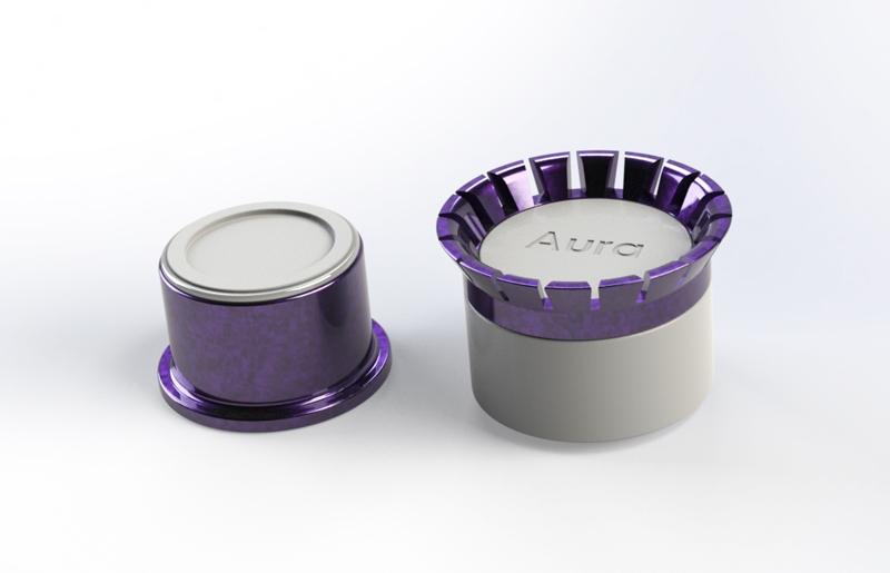 Луксозен буркан за козметика - модел 3